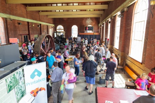 Hamilton's first Maker Faire, held at Hamilton Steam and Technology Museum