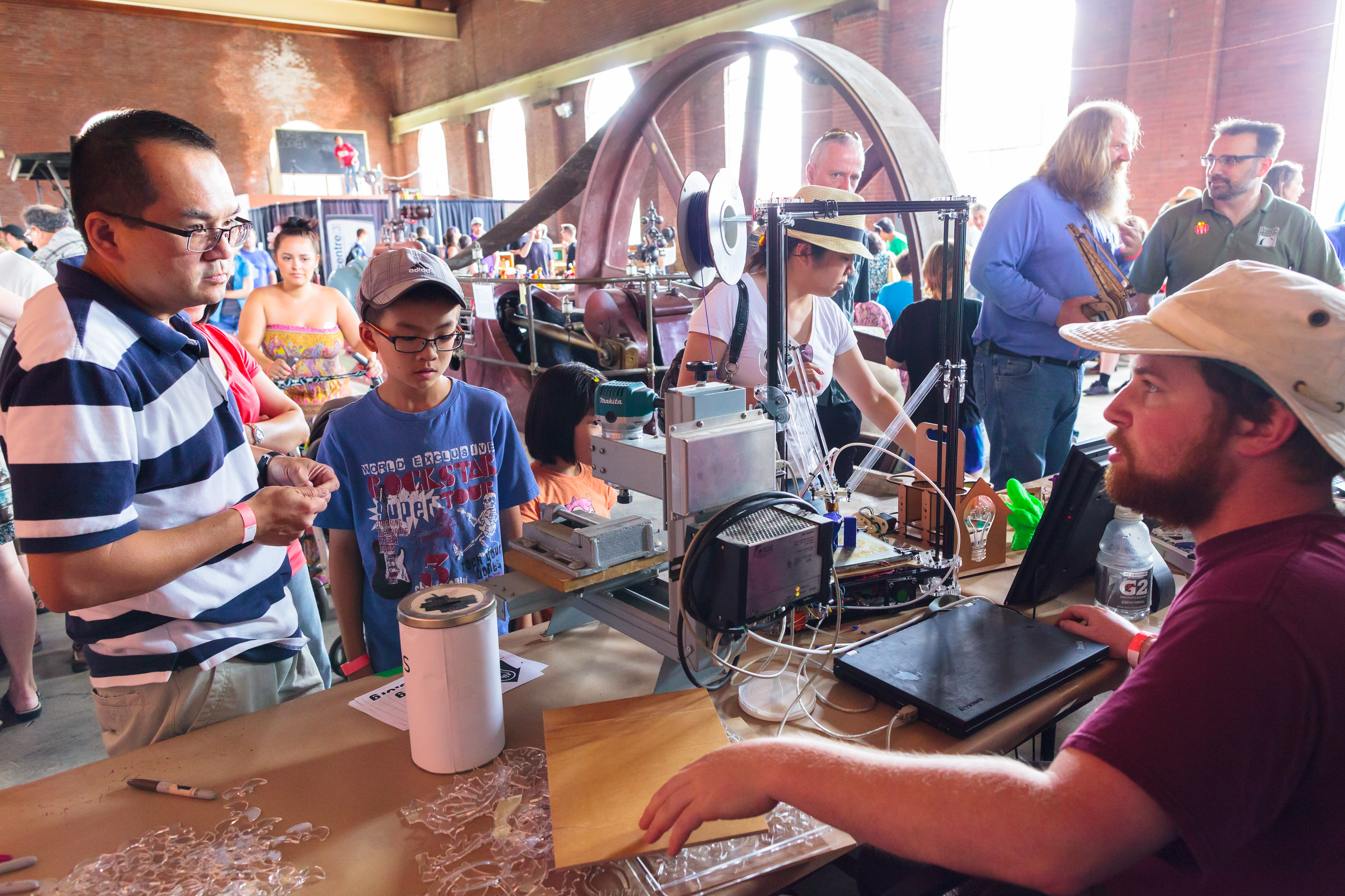 Hamilton S First Maker Faire Held At Hamilton Steam And