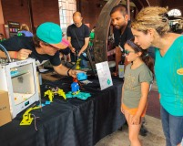 3D Printing at Hamilton's first Maker Faire, held at Hamilton Steam and Technology Museum