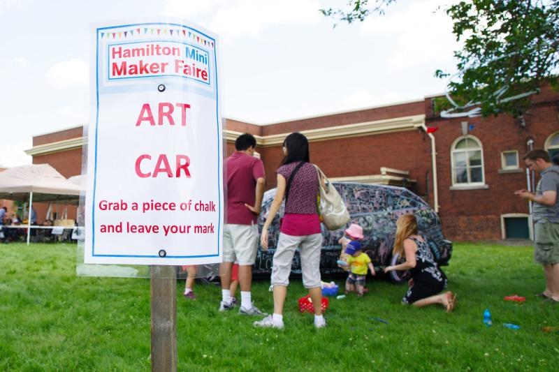 Interactive Art Car