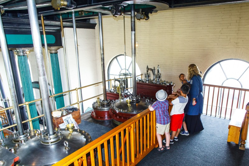 Tours of the original steam engines that powered Hamilton's First Waterworks