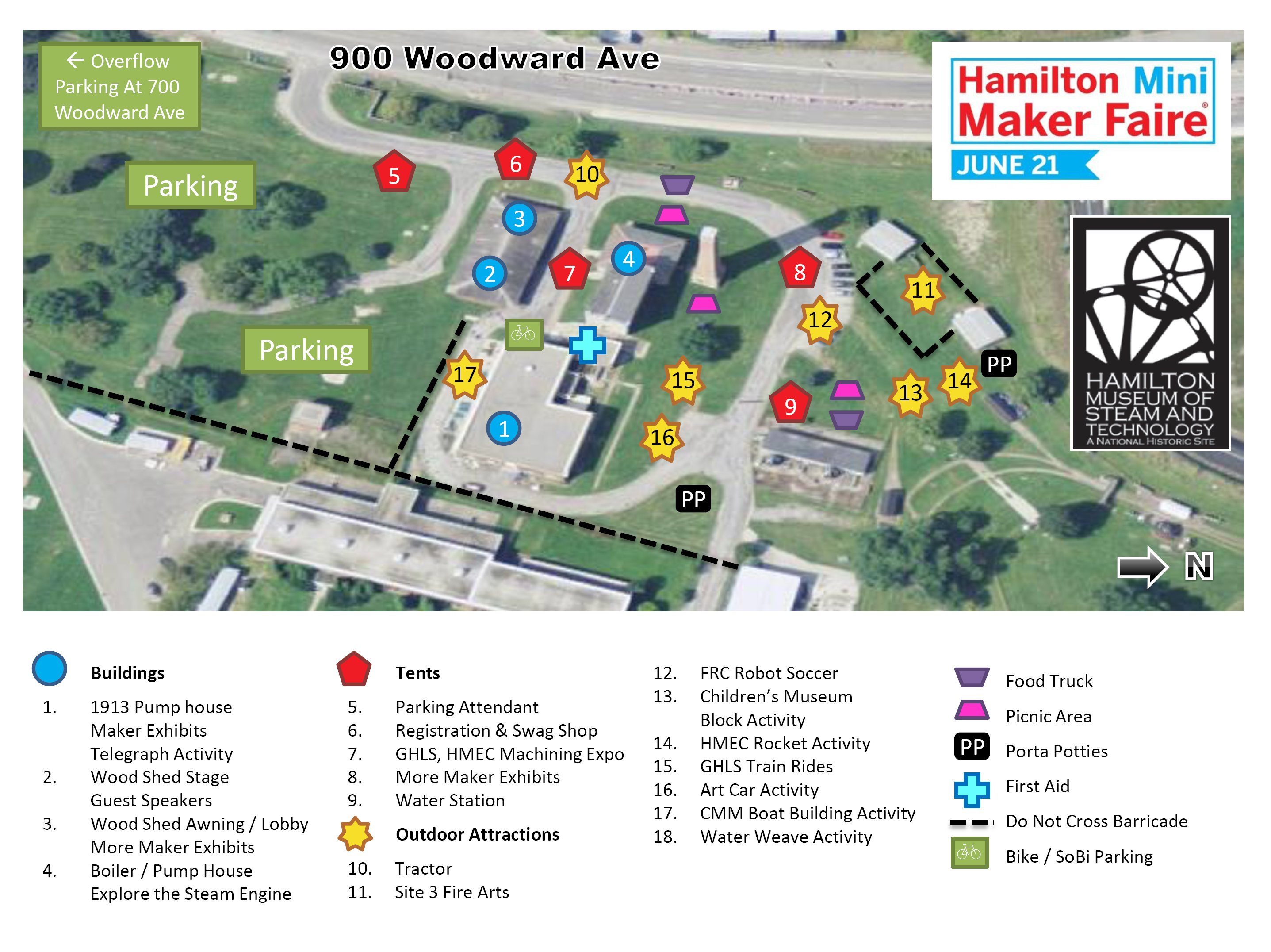 Hamilton Maker Faire Site Map Released | Hamilton Mini Maker ... on roblox map, wedding map, new york map, halloween map, maker fair map,